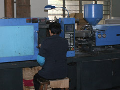 elevator buttons injection machine